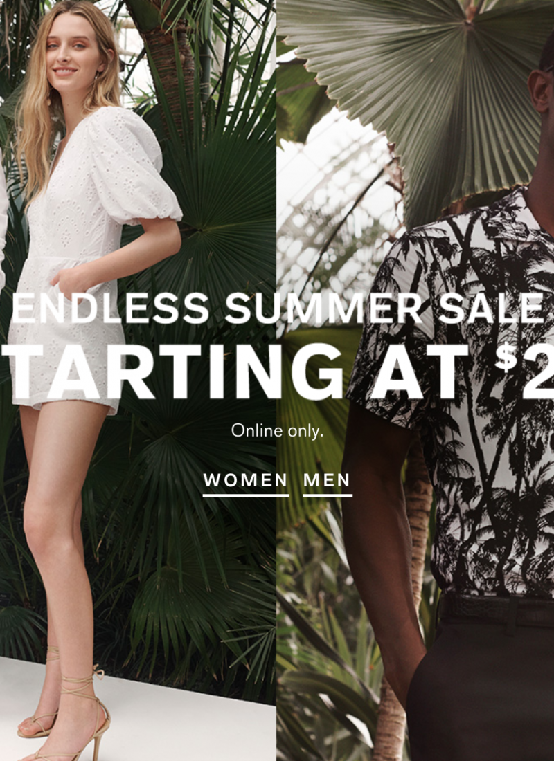8 Must-Haves From the Express Endless Summer Sale