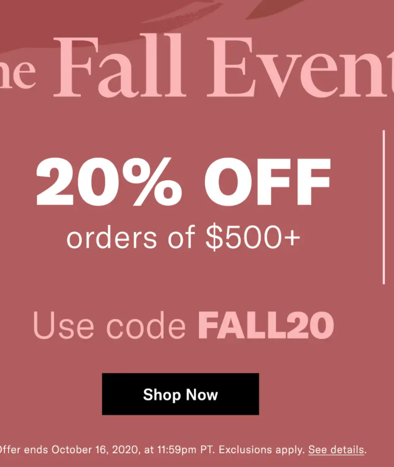 Shopbop's Fall Event: 27 Staples Worth Buying