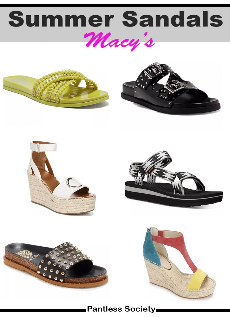 Macy's Great Sandal Sale