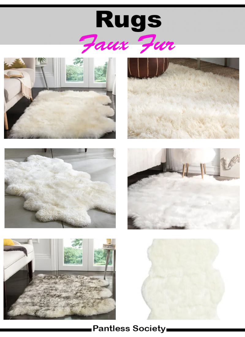 The Best Faux Fur Accent Rugs For Any Budget